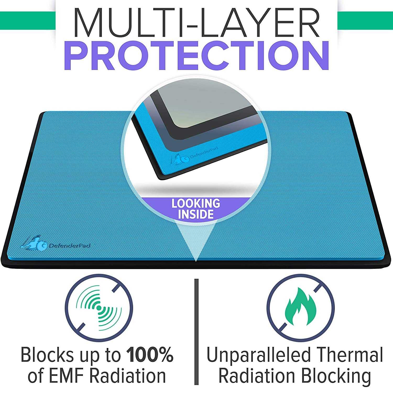 Anti straling laptoppad