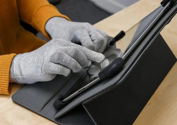 Anti straling handschoenen en tablethoes